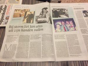 Overlijden Jan Pronk Krant